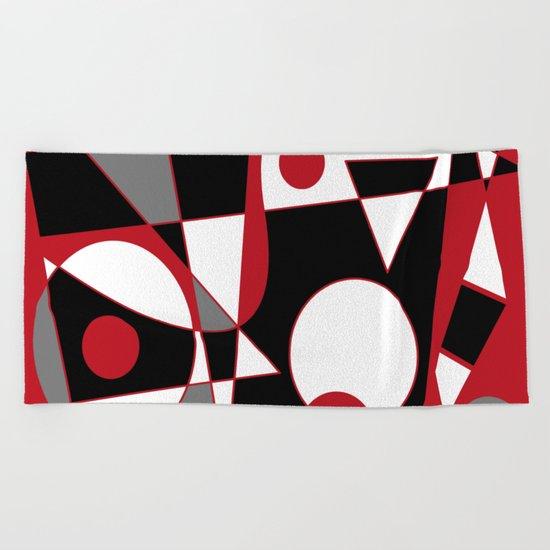 Abstract #185 Beach Towel