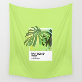 PANTONE SERIES – LEAFY GREEN Wall Tapestry