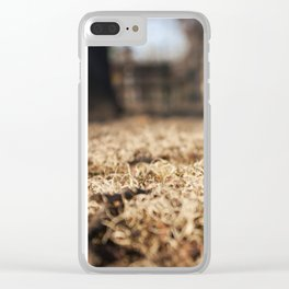 Moss in Focus Clear iPhone Case