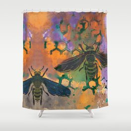 Insects that Fly Shower Curtain
