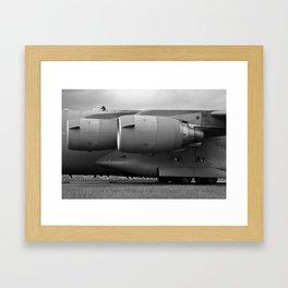 C17 Engines Framed Art Print