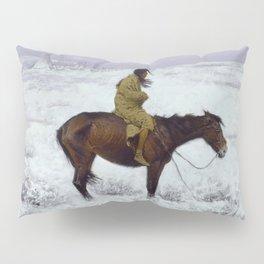 "Frederic Remington Western Art ""The Herd Boy"" Pillow Sham"