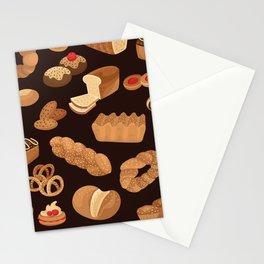 Bakery Pattern Stationery Cards