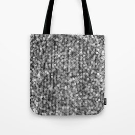 The Lights (Black and White) Tote Bag