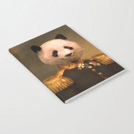 Panda Bear General | Cute Kawaii Notebook