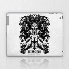 Fox McCloud Star Fox Inspired Geek Psychological Inkblot Laptop & iPad Skin