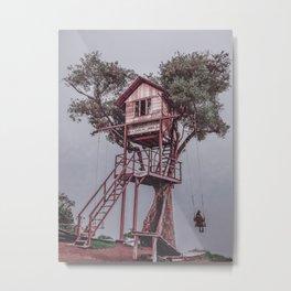 Treehouse - Baños, Ecuador Metal Print