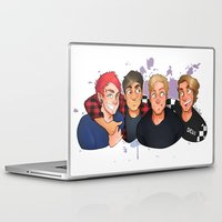 boys Laptop & iPad Skins featuring Boys by gabitozati
