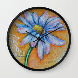 Flower-You are so loved Wall Clock