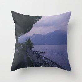 Enjoy the rain Throw Pillow