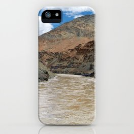 Rafting on the Zanskar River iPhone Case
