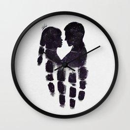 Peaceful love Wall Clock
