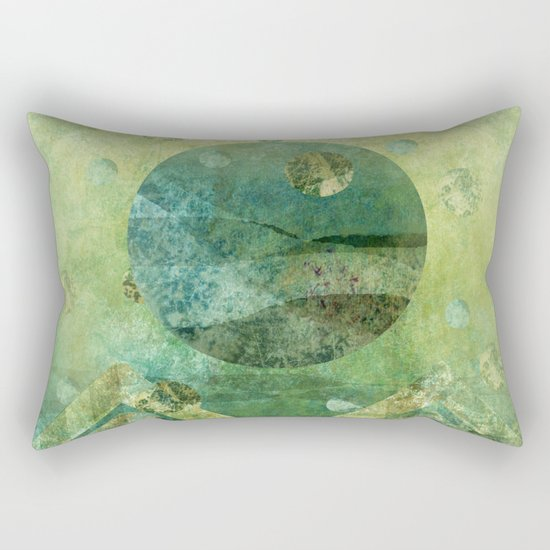 Marine Moon Rectangular Pillow