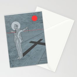 Father Pro digital minimal illustration Stationery Cards