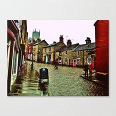 Steep Hill Canvas Print