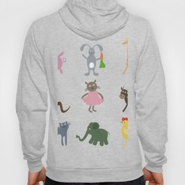 Cartoon film an animal Hoody
