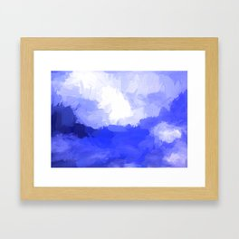 Thoughts Above Framed Art Print