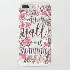My Y'all is Authentic – Vintage Palette iPhone 7 Plus Slim Case