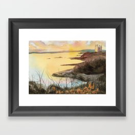 Sunset in Victoria - #1 Framed Art Print