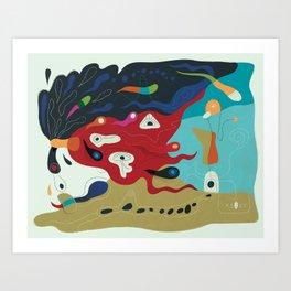 Summer Creeper Art Print