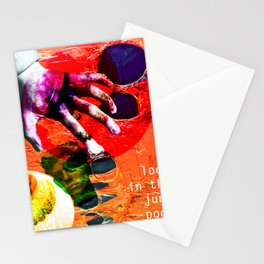 look in the junk pool Stationery Cards