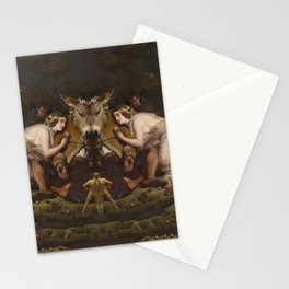 Grotesque Symmetry 4 Stationery Cards