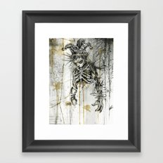 Wasted. Once Again.  Framed Art Print