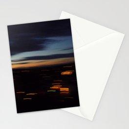 Friday night vertigo Stationery Cards