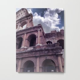 The Colosseo Metal Print