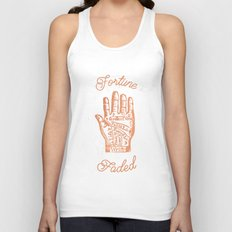 Fortune Faded Unisex Tank Top