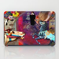 pocket fuel iPad Cases featuring Fossil Fuel Cemetery by Joseph Mosley