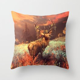 Breath of the wild Throw Pillow