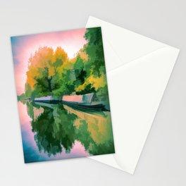 Art Of Narrow Boats Stationery Cards