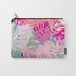 Tropical Pinks Carry-All Pouch