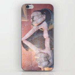 hipster triangel iPhone Skin