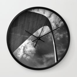 Gateway arch in St-Louis Wall Clock