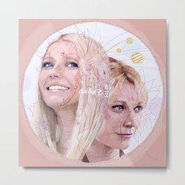 Gwyneth Paltrow Metal Print