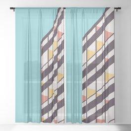 Le Corbusier Sheer Curtain