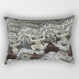 Thai Temple Wat Arun Rectangular Pillow