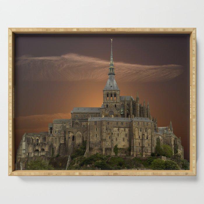 Mont-Saint-Michel Serving Tray