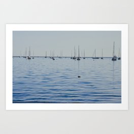 Gathering Memories - Iconic Summer Art Print