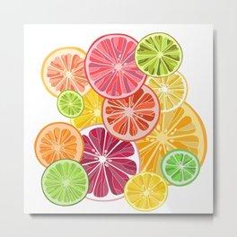 Citrus slices Metal Print