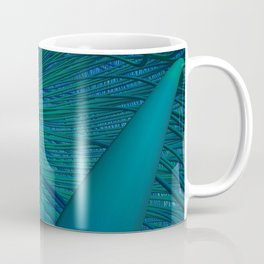 Connected in Green Coffee Mug