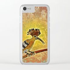 Hoopoe 2 / Nature 02-12-16 Clear iPhone Case