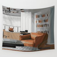 read Wall Tapestries featuring Read by JuniqueStudio