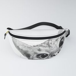sneaky cat Fanny Pack