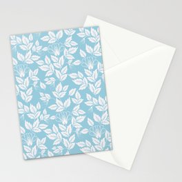 Leaves Pattern 10 Stationery Cards