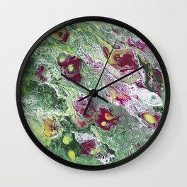 Flowers In The Window Wall Clock