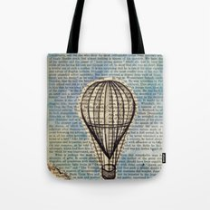 Drifting Slowly Tote Bag