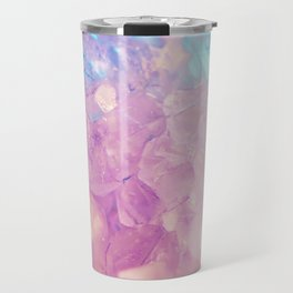 Purple Spiritual Quartz Crystal Travel Mug